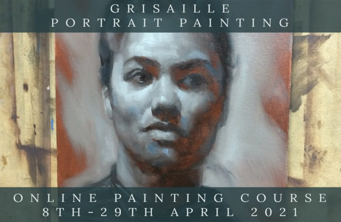 Link to Northern Realist Grisaille Portrait Painting Course webpage
