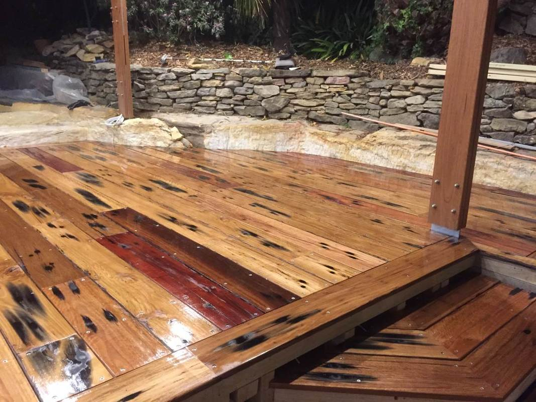 Recycled Timber Decking Deck Plan Ideas
