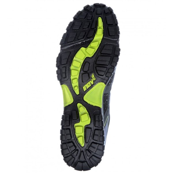 Terroc 345 Gtx Waterproof Trail Running And Walking Shoes Black Lime