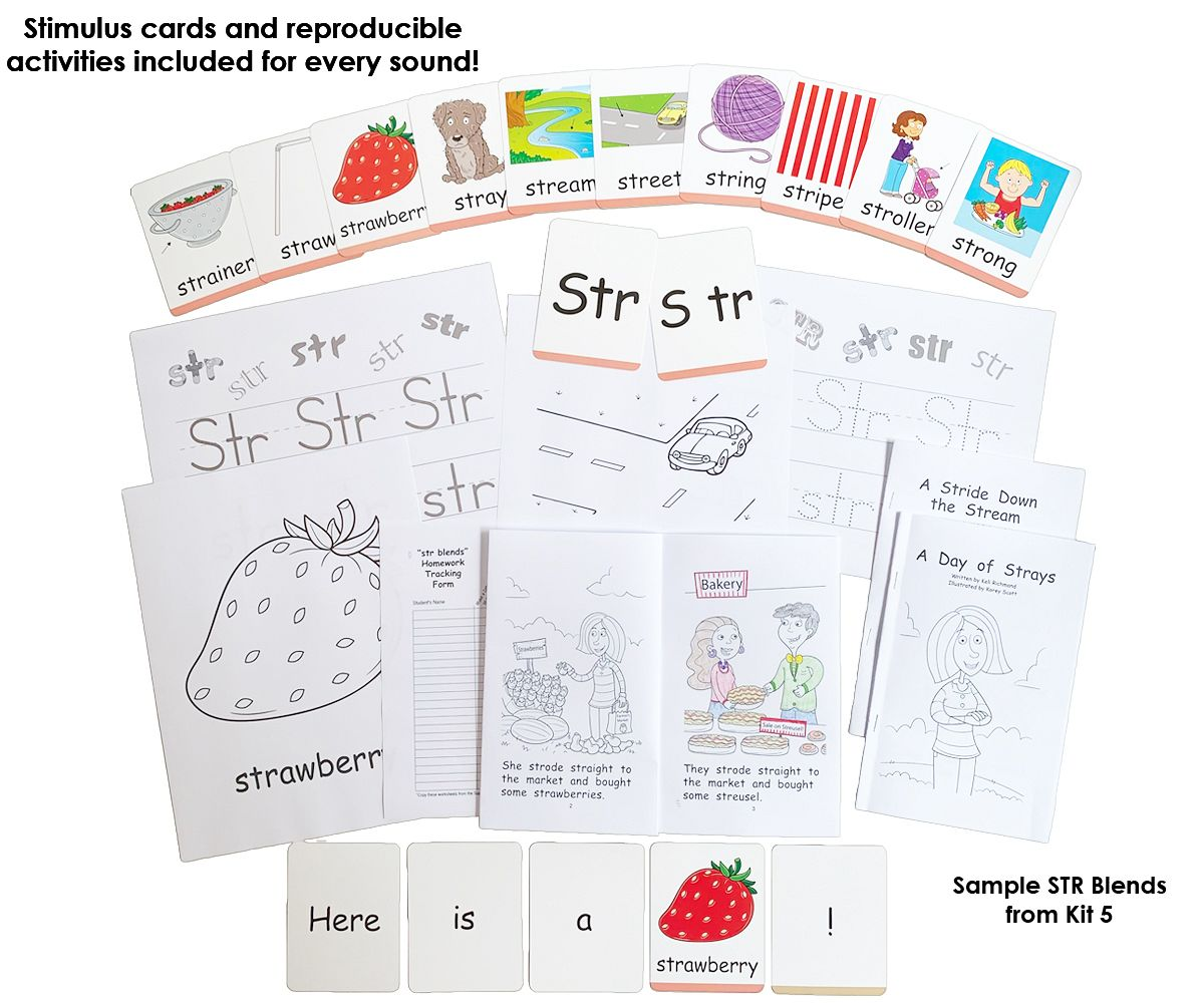 Literacy Speaks Kit 5