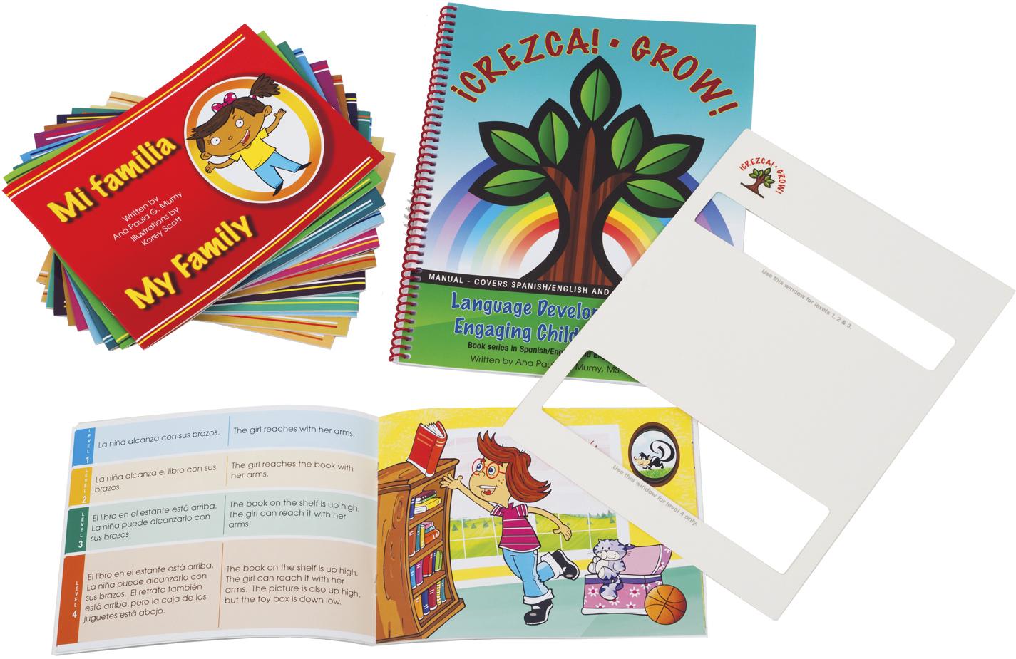 Grow Crezca Spanish English Storybooks
