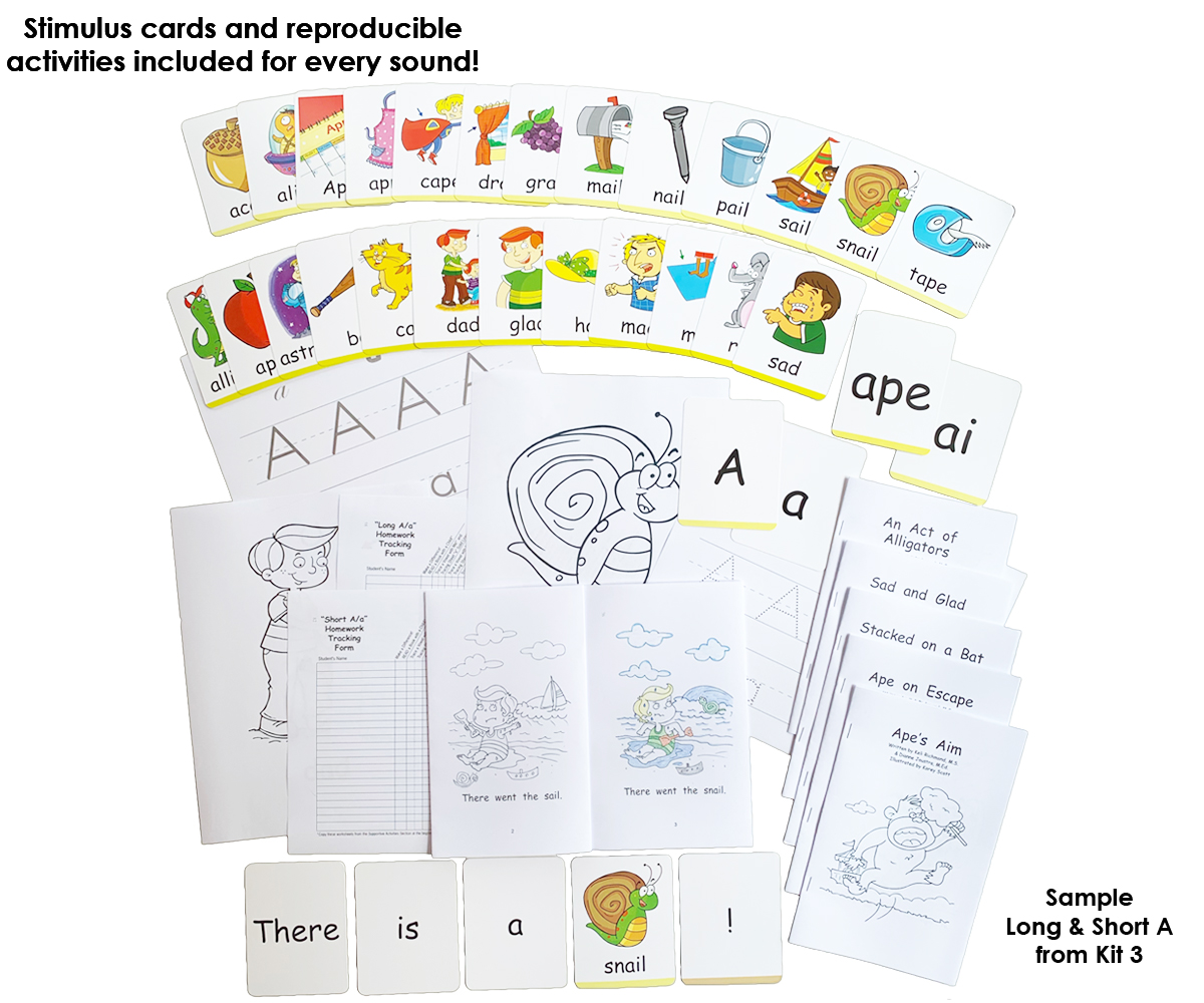 Literacy Speaks Kit 3