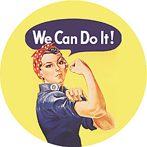 Image result for rosie the riveter