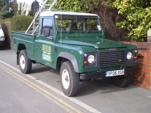 GS Toilet Hire Land Rover
