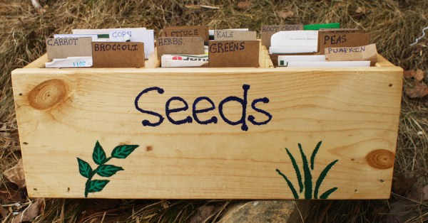 A seed organizer for less than $10