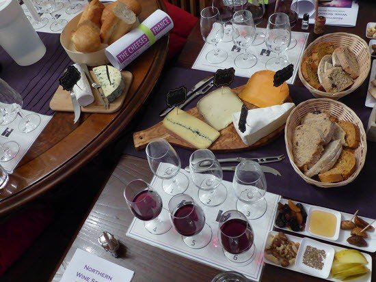 French Cheese and Wine Tasting Manchester