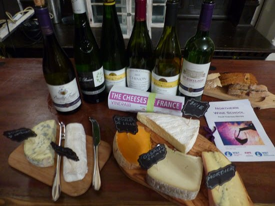 Wine Tasting Manchester with French Wine and Cheeeses