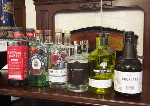 Manchester Gin Tasting