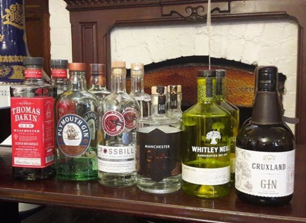 Manchester Gin Tasting