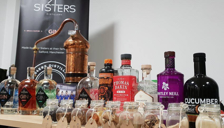 Gin Lineup 4 Sisters Gin