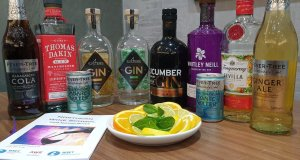 Six Specially Selected Gins with Mixers and Garnish