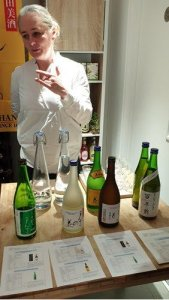 Sake tasting with Kasia at the Sparrows