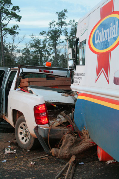 Four Injured In Flomaton Wreck One Suffers Amputation