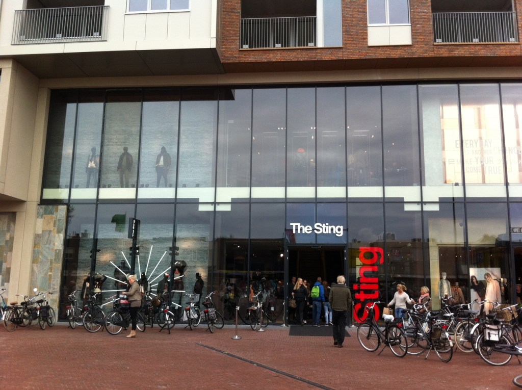 Opening van The Sting in Drachten