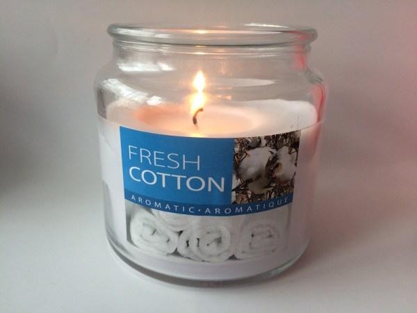 fresh cotton kaars kruidvat