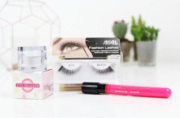 review bornpretty store nepwimpers oogschaduw en een lipgloss lipstain