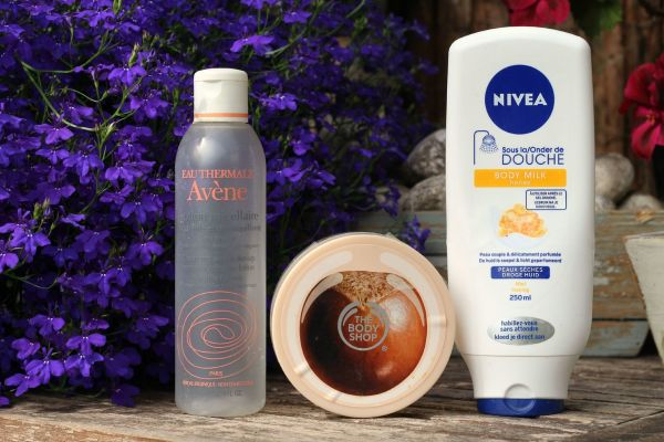 opgemaakte_producten_artikelen_nivea_body_milk_honey_avene_the_body_shop_scrub