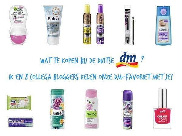 Wat te kopen bij de Duitse DM drogist? Ik en 8 collega bloggers delen onze DM-favoriet met je!