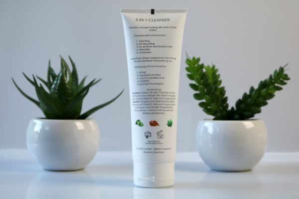 biomed skin care review peel me up cleanser 2