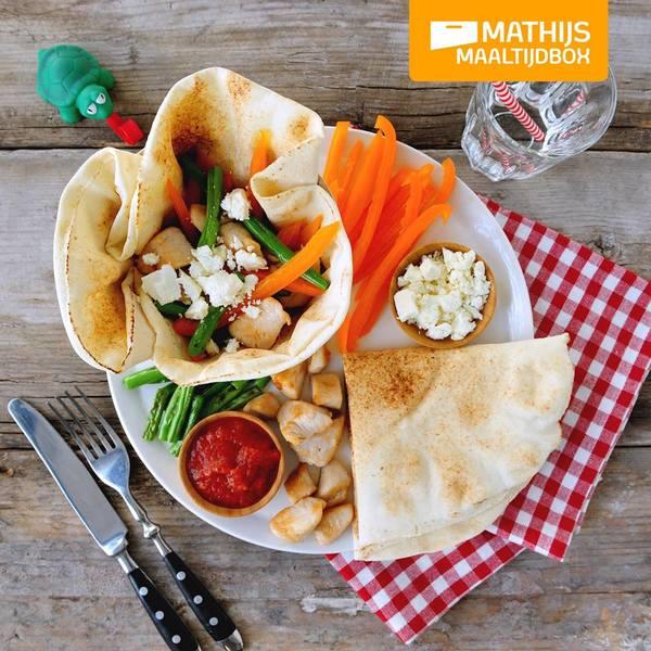 mathijs_maaltijdbox_review_ervaring_kip_platbrood
