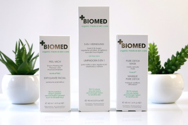 review biomed skin care review peeling detox cleanser