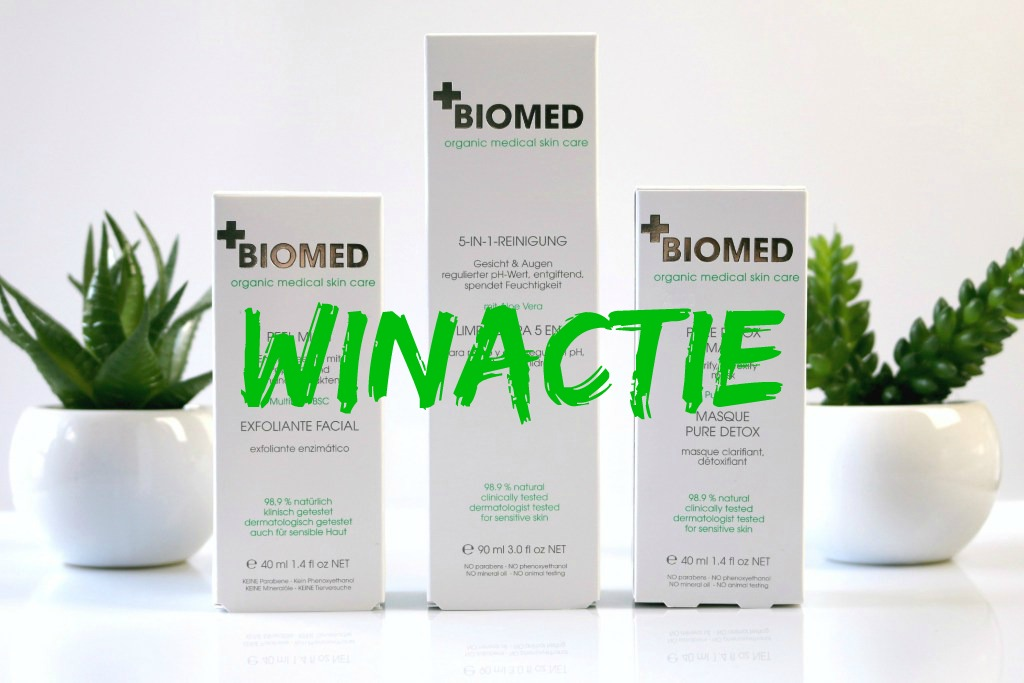 Winactie: Win 3 producten BIOMED Organic Medical Skin Care