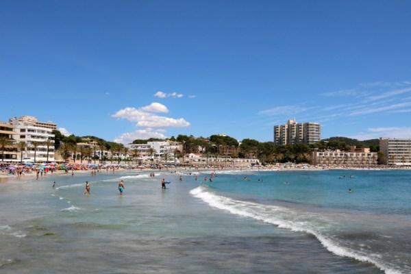 strand beach paguera peguera mallorca