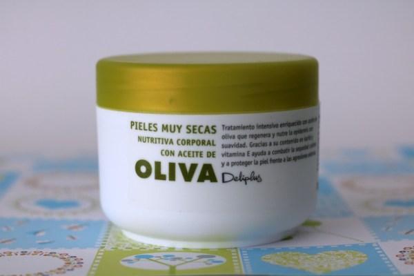 Aceite de Oliva crema corporal van Deliplus mercadona aanrader beauty spanje