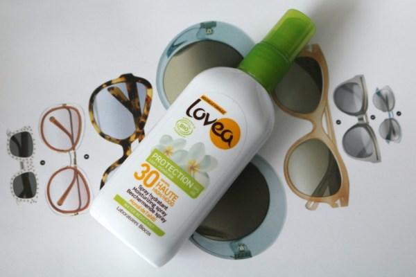 Review Lovea BIO Sun Spray SPF 30 ervaring