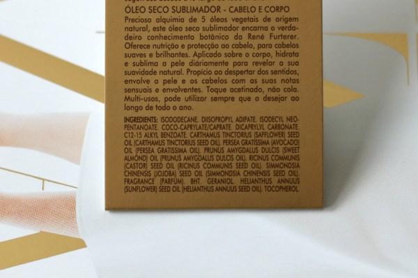 review René Furterer 5 Sens droge olie ingredienten
