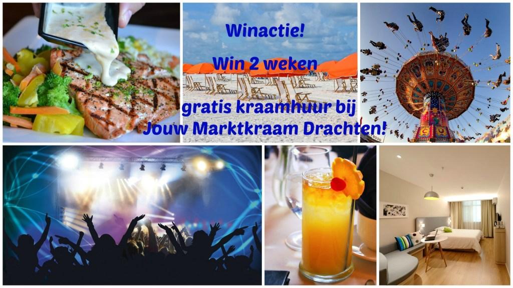 Winactie: Win 2 weken gratis kraamhuur bij Jouw Marktkraam Drachten