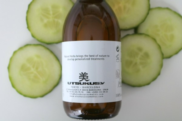 Review Utsukusy komkommer hydrolaat 3