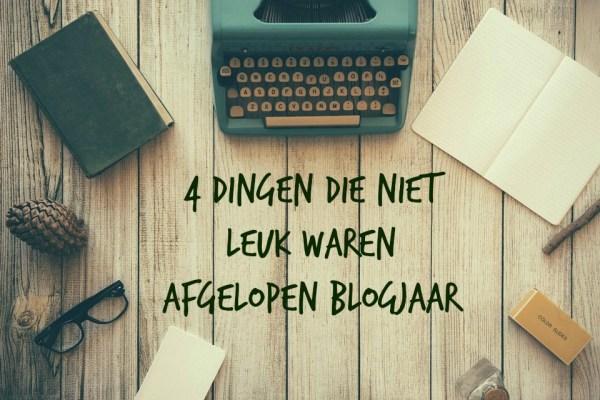niet leuk aan bloggen