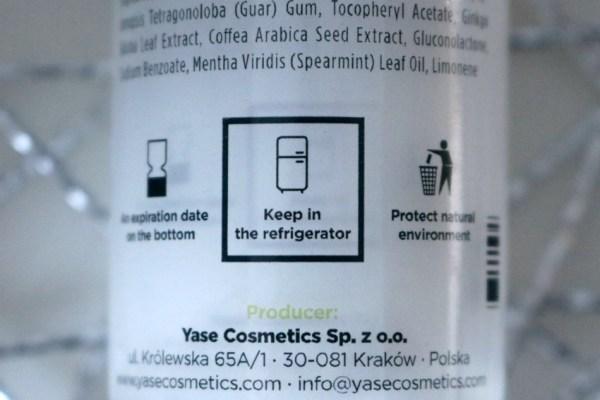 review-ervaringen-yase-cosmetics-serum-polen-koelkast-bewaren