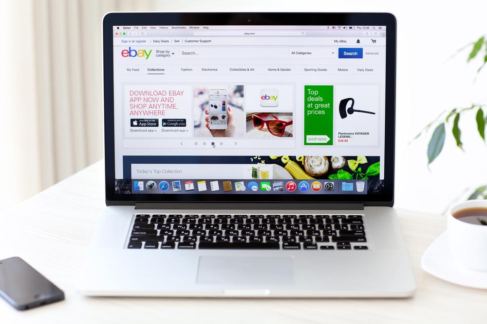 Webshops die eBay spullen verkopen voor torenhoge prijzen promoten op je blog