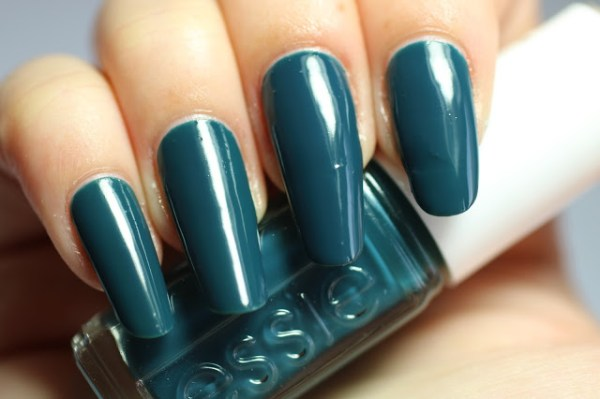 essie teal satin sister winter collectie collection 2016 2017