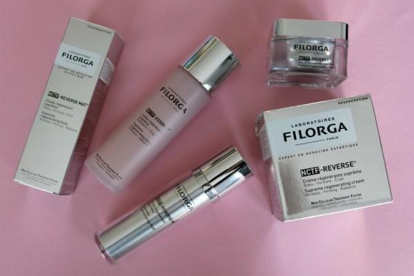 Review ervaringen FILORGA NCTF-REVERSE® (New Cellular Treatment Factor) huidverzorging injectie botox
