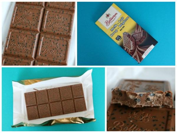 lidl bellarom melk met drop chocolade