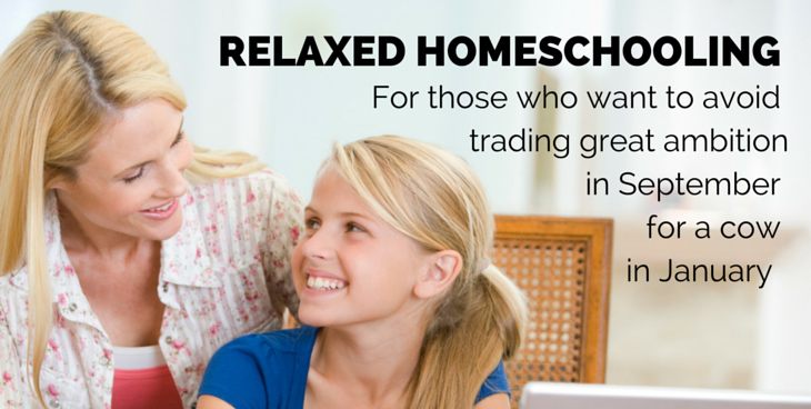 Relaxed Homeschooling
