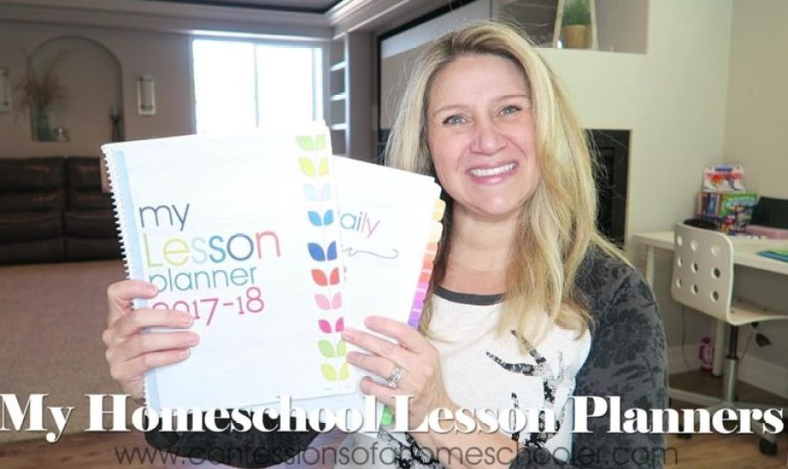 Homeschooling Lesson Planners – Lesson Planner For Homeschooled Students