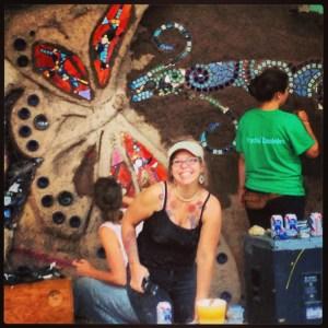 Paonia's Art Wall