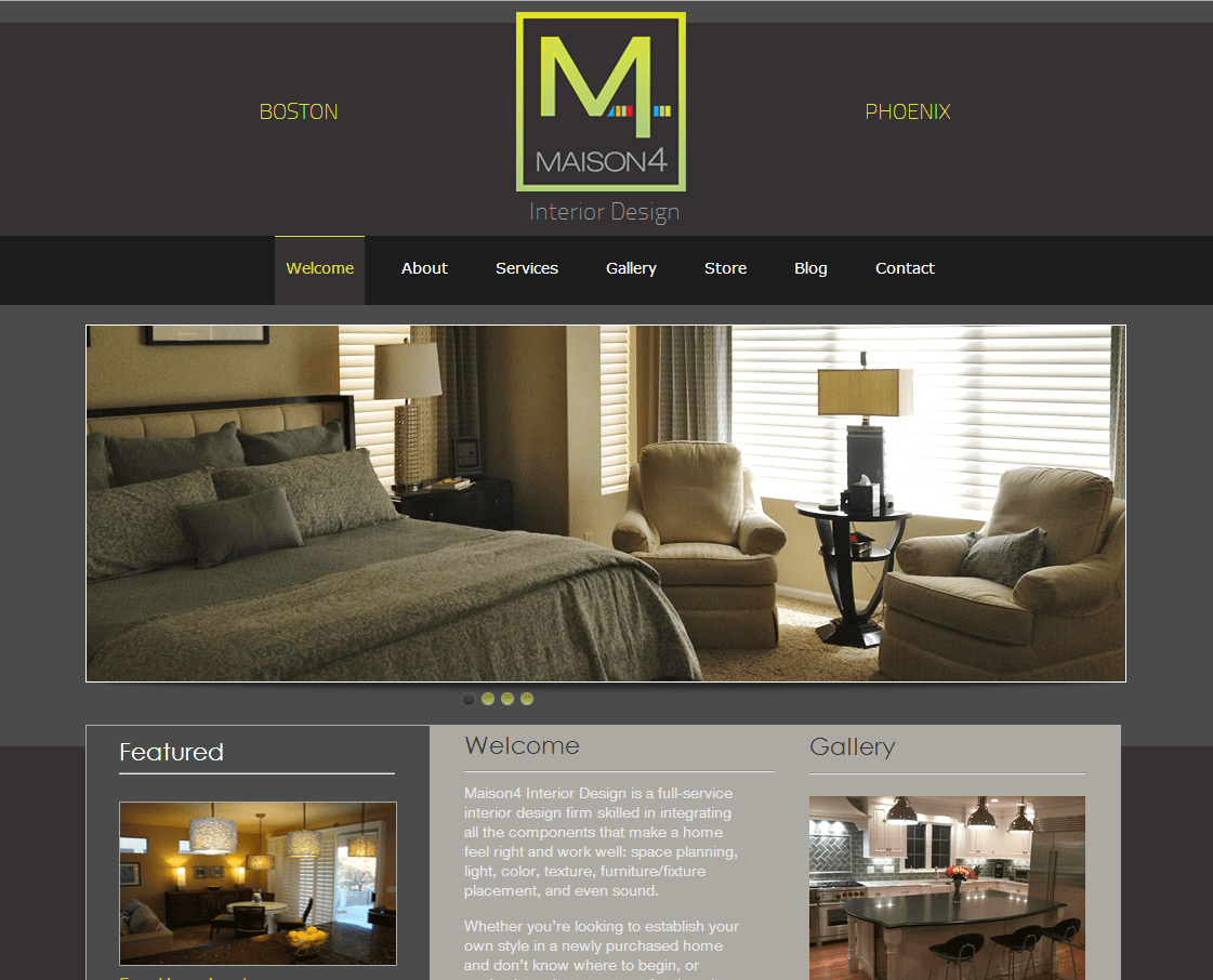 CT Web Design Portfolio North Forty Road WordPress Web