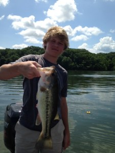 Lake Chickamauga guide trip