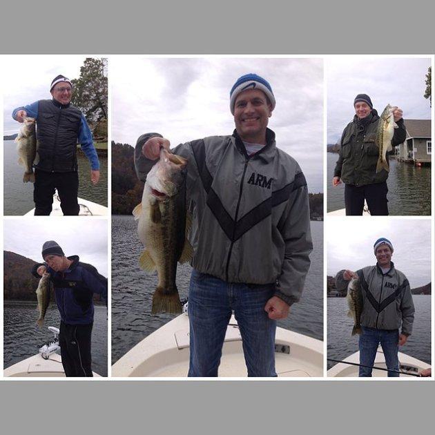 Fall Fishing on Lake Burton