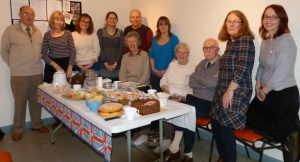 Teds farewell tea party at letchworth musuem in 2012