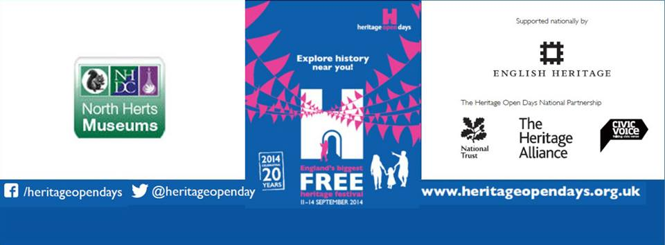 North Herts Museum update: September Heritage Open Days