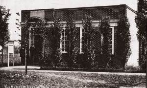 first single storey building of Letchworth Museum 1914
