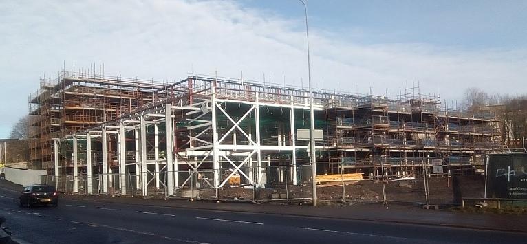 Primary school under construction