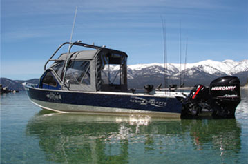 Lake Tahoe Fishing Boats  Tahoe Fishing Charters with