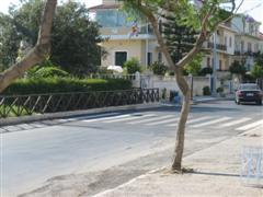Cretan pedestrian crossing
